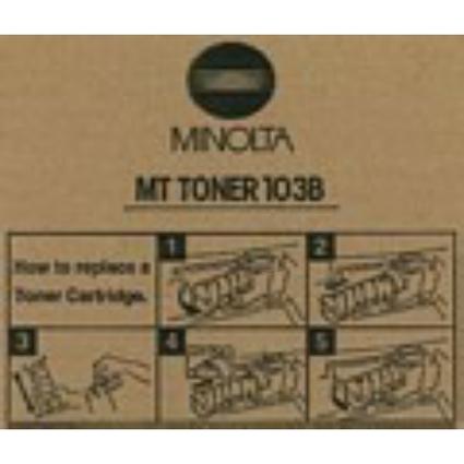 Original Toner für KONICA MINOLTA Kopierer EP1030, schwarz