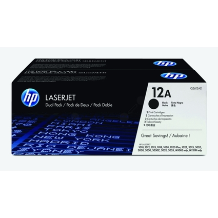Original Toner für hp LaserJet 1010/1012, schwarz, DP