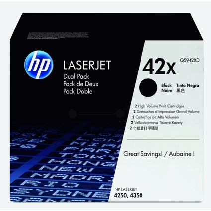 Original Toner für hp LaserJet 4250/4250N/4350, schwarz, DP