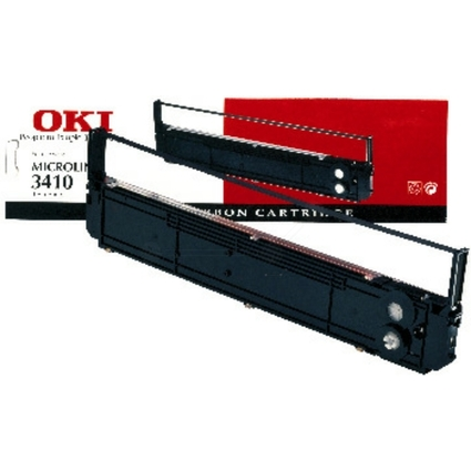 Original Farbband für OKI ML 3410, Nylon, schwarz