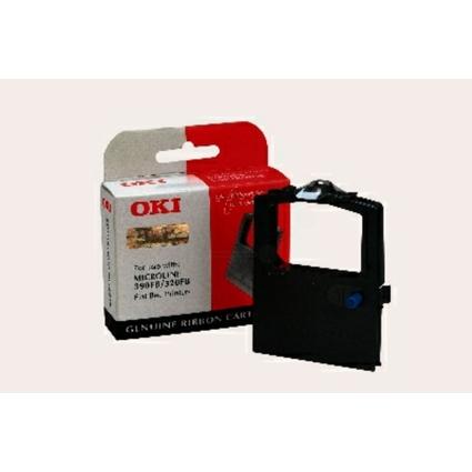 Original Farbband für OKI ML320 FB/ML390 FB, Nylon, schwarz
