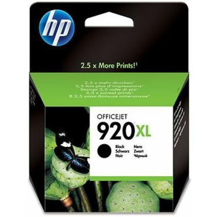 Original Tinte hp 920XL (CD975AE) für hp OfficeJet, schwarz