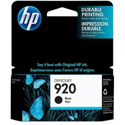 Original Tinte hp 920 (CD971AE) für hp OfficeJet, schwarz