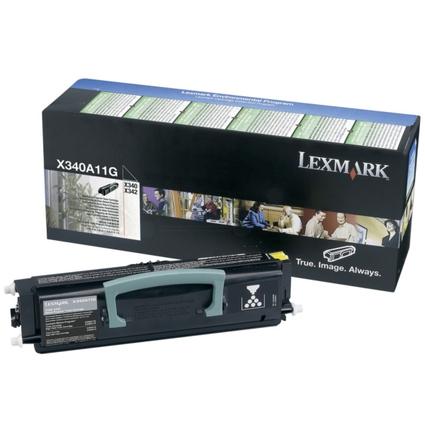 Original Rückgabe-Toner für LEXMARK X340/X342N, schwarz