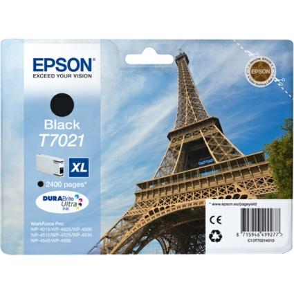 Original Tinte für EPSON WorkForcePro 4000/4500, schwarz, XL