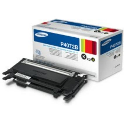 Original Toner für SAMSUNG Laserdrucker CLP 320, schwarz DP