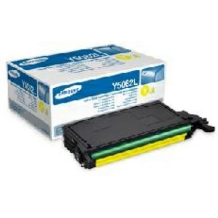 Original Toner für SAMSUNG Laserdrucker CLP 620, gelb, HC