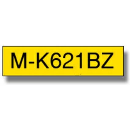 brother M-Tape M-K621 Schriftbandkassette, Bandbreite: 9 mm