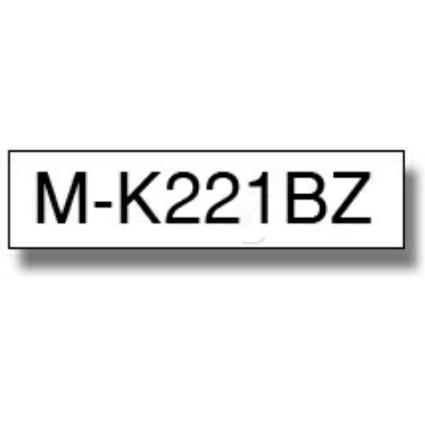 brother M-Tape M-K221 Schriftbandkassette, Bandbreite: 9 mm
