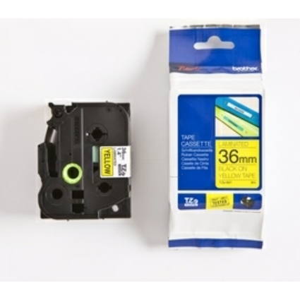brother TZe-Tape TZe-661 Schriftbandkassette,Bandbreite:36mm