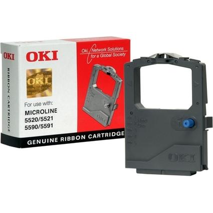 Original Farbband für OKI ML5520 Elite, Nylon, schwarz