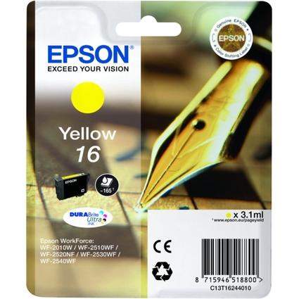 Original Tinte für EPSON WorkForce 2010/2510, gelb