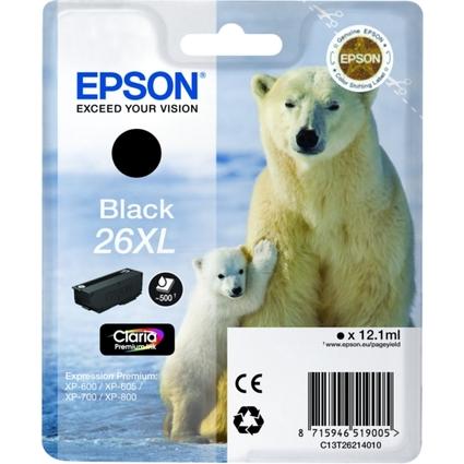 Original Tinte für EPSON Expression XP-600, schwarz XL