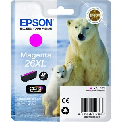 Original Tinte für EPSON Expression XP-600, magenta XL