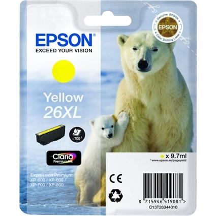 Original Tinte für EPSON Expression XP-600, gelb XL