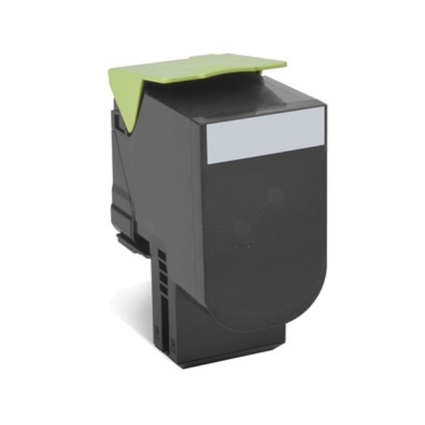 Original Rückgabe-Toner für LEXMARK CX310N, schwarz HC