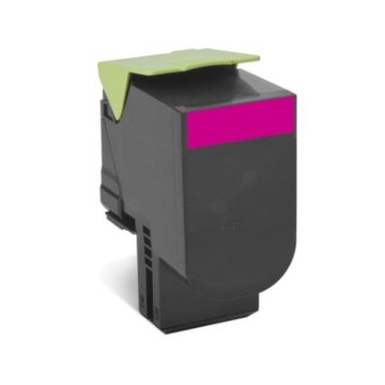 Original Rückgabe-Toner für LEXMARK CX310N, magenta HC