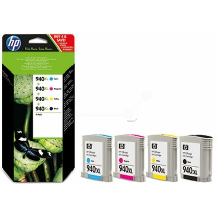 Original Tinte hp 940XL (C2N93AE) für hp, Multipack 4er-Pack