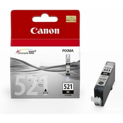 Original Tinte für Canon PIXMA iP4600, CLI-521, foto schwarz