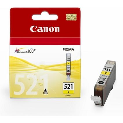 Original Tinte für Canon PIXMA iP4600, CLI-521, gelb