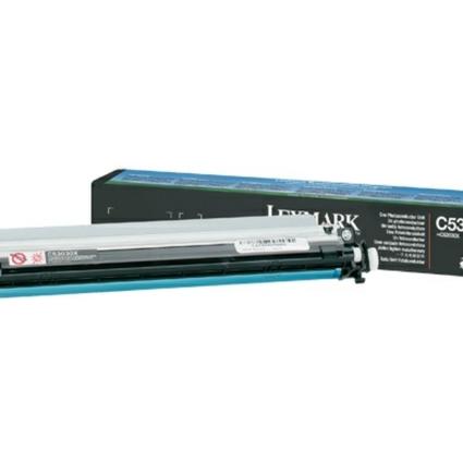 Original Fotoleiter für LEXMARK Laserdrucker C530, schwarz