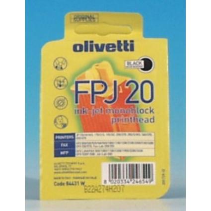 Original Einwegdruckkopf für olivetti JP350/JP270, schwarz