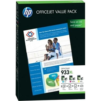 Original Tinte hp 933XL Officejet Value Pack (CR711AE)