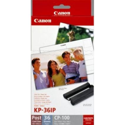 Original Canon Farbkartusche + Fotopapier KP 36IP für