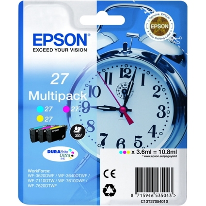 Original Tinte für EPSON WorkForce WF-3620DWF, Multipack