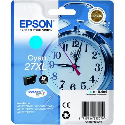 Original Tinte für EPSON Workforce 3620DWF, cyan