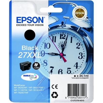 Original Tinte für EPSON Workforce 3620DWF, schwarz HC