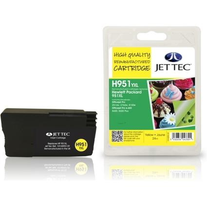 JET TEC wiederbefüllte Tinte H951YXL ersetzt hp 951XL/