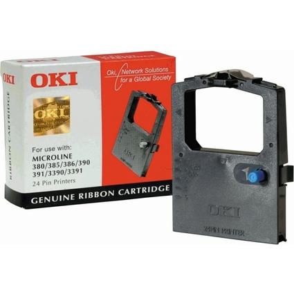 Original Farbband für OKI ML380/ML385/ML390, Nylon, schwarz