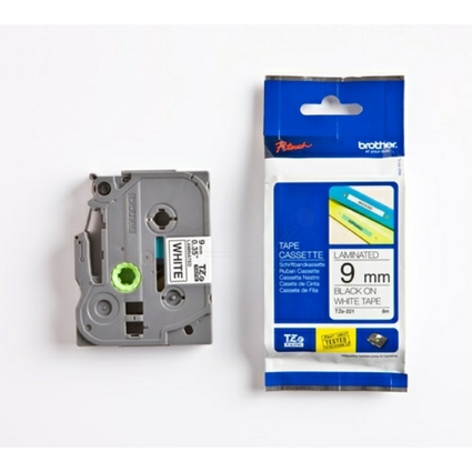 brother TZe-Tape TZe-221 Schriftbandkassette, Bandbreite:9mm