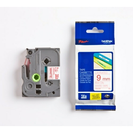 brother TZe-Tape TZe-222 Schriftbandkassette, Bandbreite:9mm