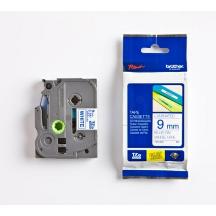 brother TZe-Tape TZe-223 Schriftbandkassette, Bandbreite:9mm