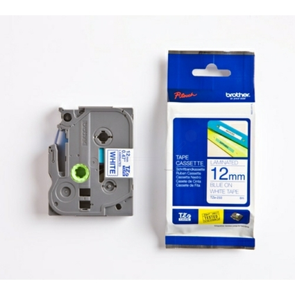 brother TZe-Tape TZe-233 Schriftbandkassette,Bandbreite:12mm