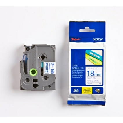 brother TZe-Tape TZe-243 Schriftbandkassette,Bandbreite:18mm