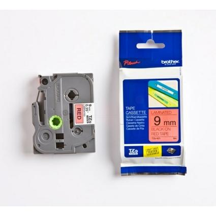 brother TZe-Tape TZe-421 Schriftbandkassette, Bandbreite:9mm