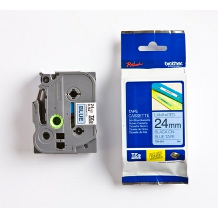 brother TZe-Tape TZe-551 Schriftbandkassette,Bandbreite:24mm