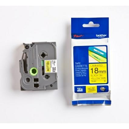 brother TZe-Tape TZe-641 Schriftbandkassette,Bandbreite:18mm