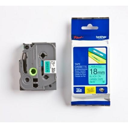 brother TZe-Tape TZe-741 Schriftbandkassette,Bandbreite:18mm