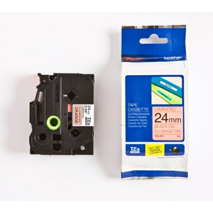 brother TZe-Tape TZe-B51 Schriftbandkassette,Bandbreite:24mm