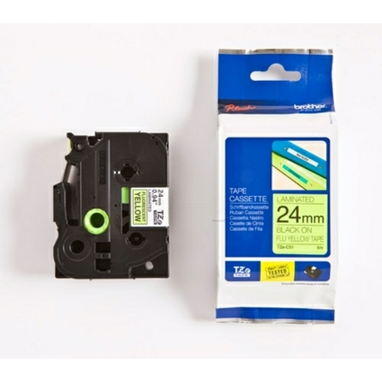 brother TZe-Tape TZe-C51 Schriftbandkassette,Bandbreite:24mm