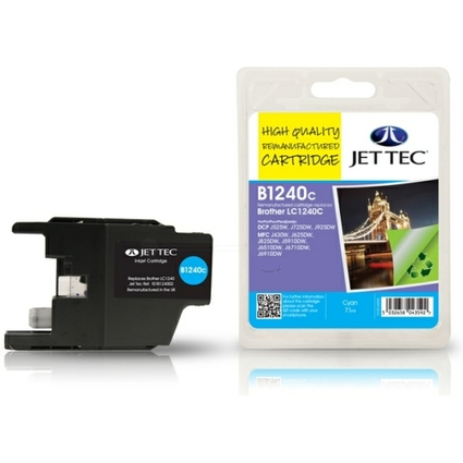 JET TEC wiederbefüllte Tinte B1240C ersetzt brother LX-1240C