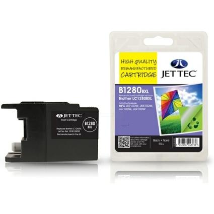 JET TEC wiederbefüllte Tinte B1280BXL ersetzt brother