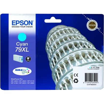 Original Tinte für EPSON WorkForcePro WF-5620DWF, cyan HC