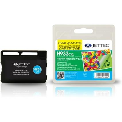 JET TEC wiederbefüllte Tinte H932CXL ersetzt hp  933 XL/