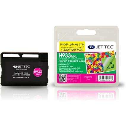 JET TEC wiederbefüllte Tinte H932MXL ersetzt hp  933 XL/