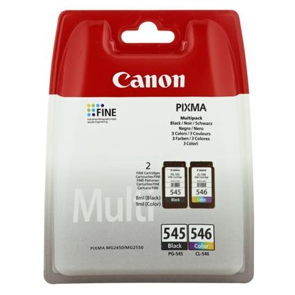 Original Multipack für Canon PIXMA IP2850, PG-545/CL-546